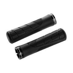 Ручки руля LONGUS, GROSS, черные, с замком