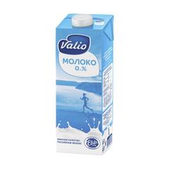 Молоко Valio питьевое ультрапастеризованное 0%, 971мл