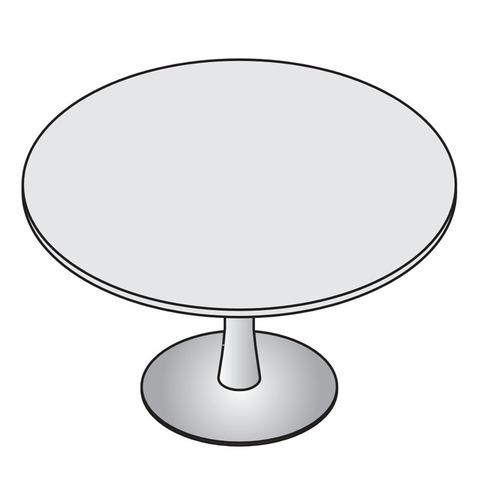 Стол для совещаний круглый LAS Mobile LOGIC (Италия)