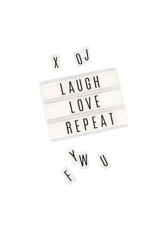 Сменный алфавит Heidi Swapp Lightbox Inserts 50шт.  -   Heidi Swapp
