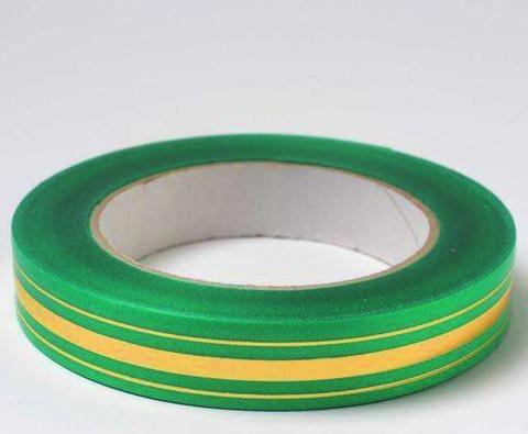 Лента золотая полоса BL (размер: 2 см х 50 ярдов) Цвет: зеленый