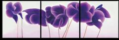 """Модульная картина """"Фиолетовые цветы"""""""