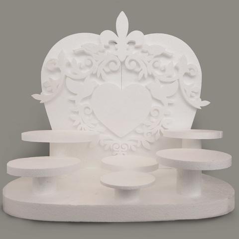 Подставка под сладкое для свадьбы