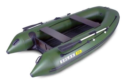 Надувная ПВХ-лодка Солар Максима - 330 (зеленый)