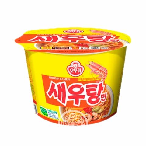 Лапша б/п Shrimp рамен со вкусом креветок 110г OTTOGI Южная Корея
