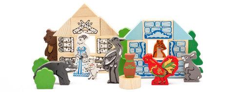 Томик конструктор деревянный