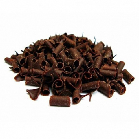 Шоколадная стружка Callebaut, темная, 50гр