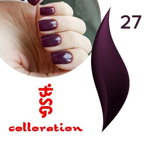 BSG Colloration, №27 Глубокий темно-фиолетовый купить за 650руб