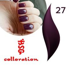BSG Colloration, №27 Глубокий темно-фиолетовый