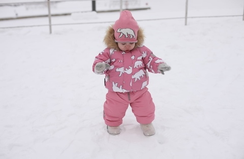 Зимний комплект Ticket to Heaven Rebecka для девочки розовый