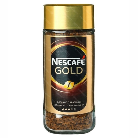 Кофе NESCAFE Gold S 95 г ст/б РОССИЯ