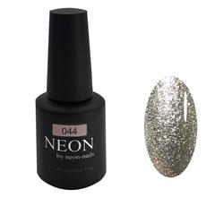 Серебристый гель-лак NEON с эффектом фольги