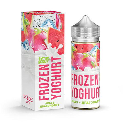 Жидкость Frozen Yoghurt Ice Boost 120 мл Арбуз Драгонфрут