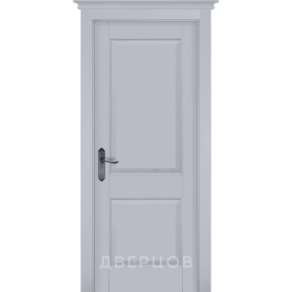 Двери в шоу-руме на Волгоградском проспекте Межкомнатная дверь массив ольхи ОКА Элегия эмаль грей глухая elegiya-grey-emal-pg-krlogodvertsov.jpg