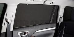 Каркасные автошторки на магнитах для BMW 3 F30 (2011+) Седан. Комплект на задние двери