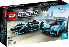 Lego konstruktor Speed Formula E Panasonic Jaguar Racing GEN2 car & Jaguar I-PACE eTROPHY