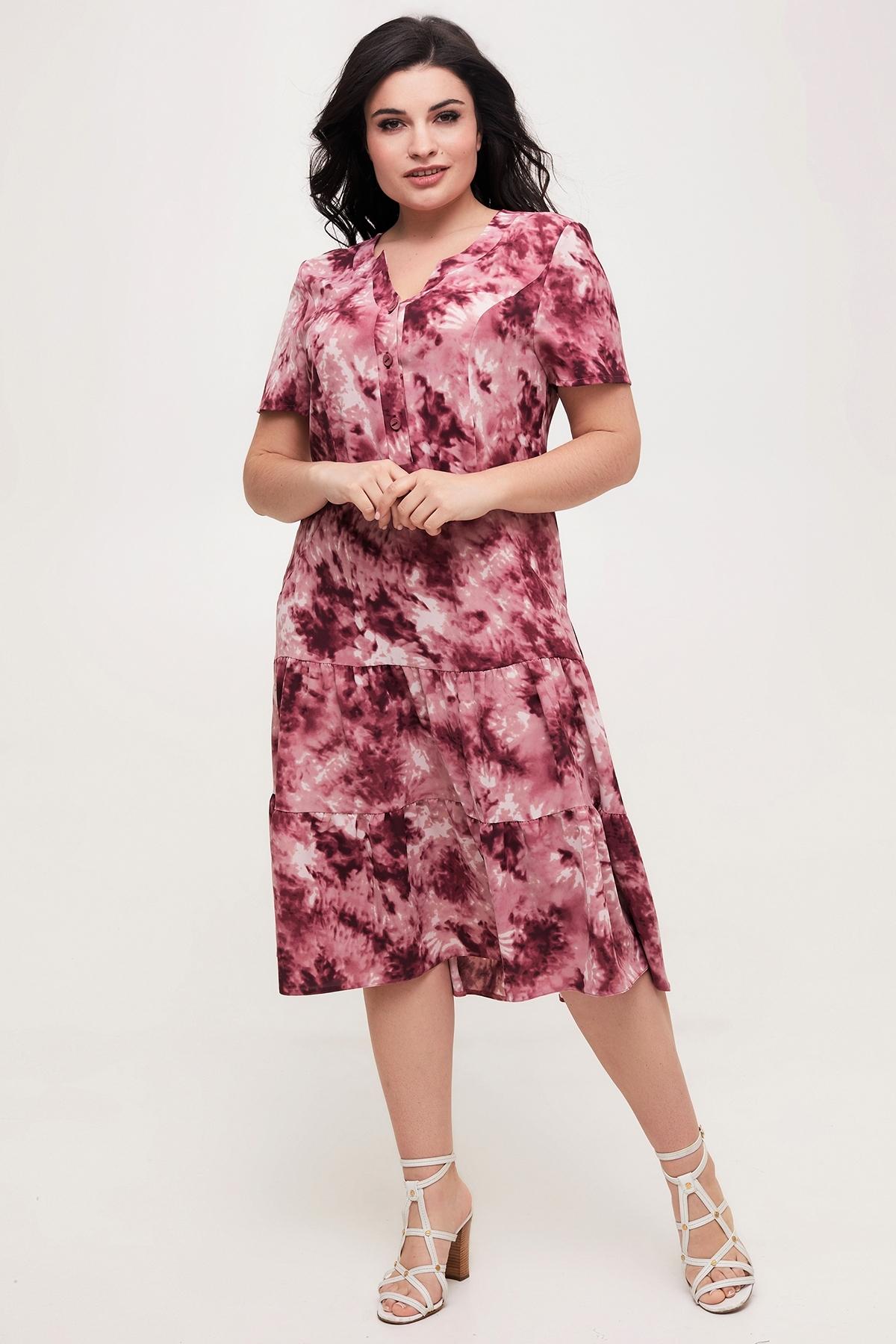 Сукня Ріанна (Рианна)(розовий)
