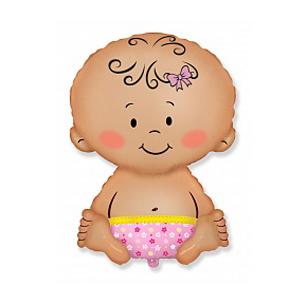 Фольгированный шар Малышка 32