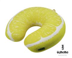 Подушка-подголовник Gekoko «Лимон» 3