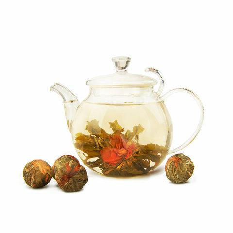 Чай Бай Юй Лянь (Белый лотос благоденствия), в связке