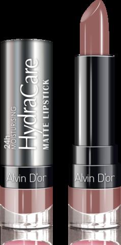 Alvin D`or Губная помада матовая HydraCare matte lipstick (тон 05) ADL-14 3,7г