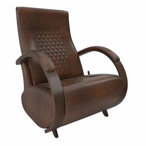 Кресло-глайдер Balance Balance-3 с накладками, орех/Antik Crocodile, 014.003