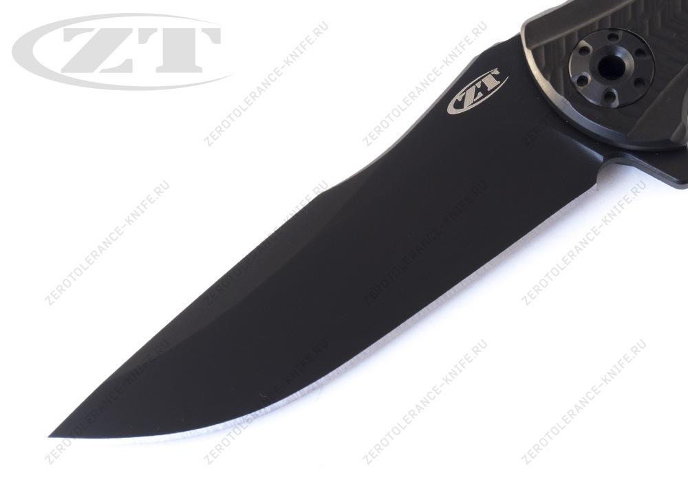 Нож Zero Tolerance 0609BLK RJ Martin - фотография
