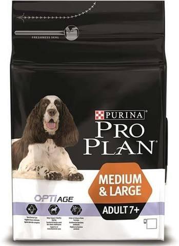 PURINA PRO PLAN Сухой корм для пожилых собак средних и крупных пород с курицей Medium&Large Adult 7+