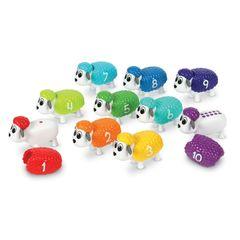 Развивающая игра Разноцветные овечки Learning Resources