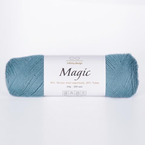 Пряжа Infinity Magic 7252 лазурный