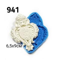 0941 Молд силиконовый. Накладка со львом