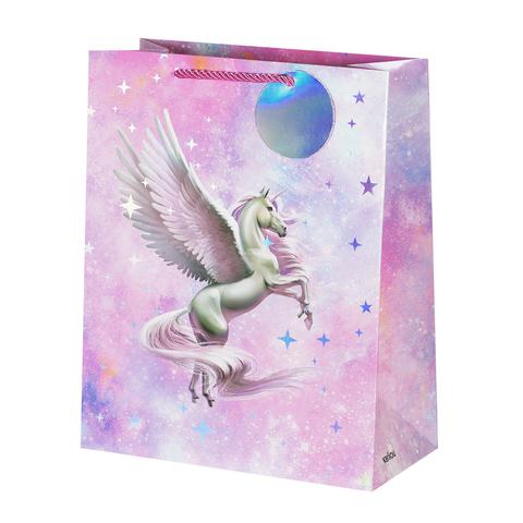 Пакет подарочный Unicorn 26*32*12.5 4