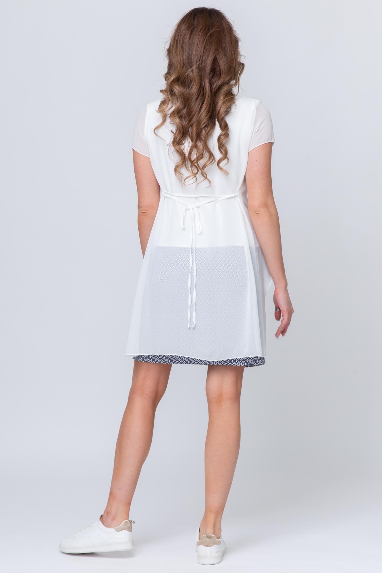 Платье для беременных 07492 кремовый