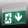 Световой указатель эвакуационного выхода ESC-80 с возможностью изменять смысловое значением (функция ADAPTIVE) – проход разрешен