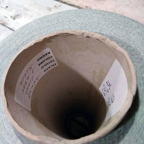 Шелк с кашемиром (35%)  CARIAGGI SUNNY 2/110  серо-зеленый