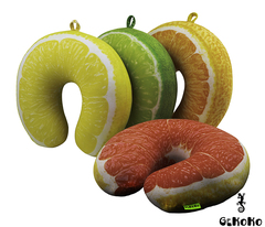 Подушка-подголовник Gekoko «Лимон» 4