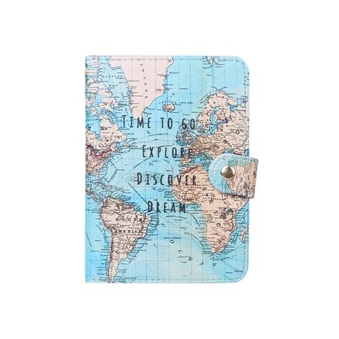 Обложка для паспорта Time to go