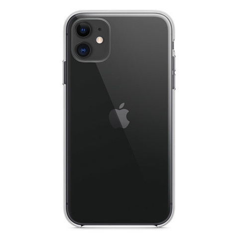 Чехол для iPhone 11 - Прозрачный Силиконовый