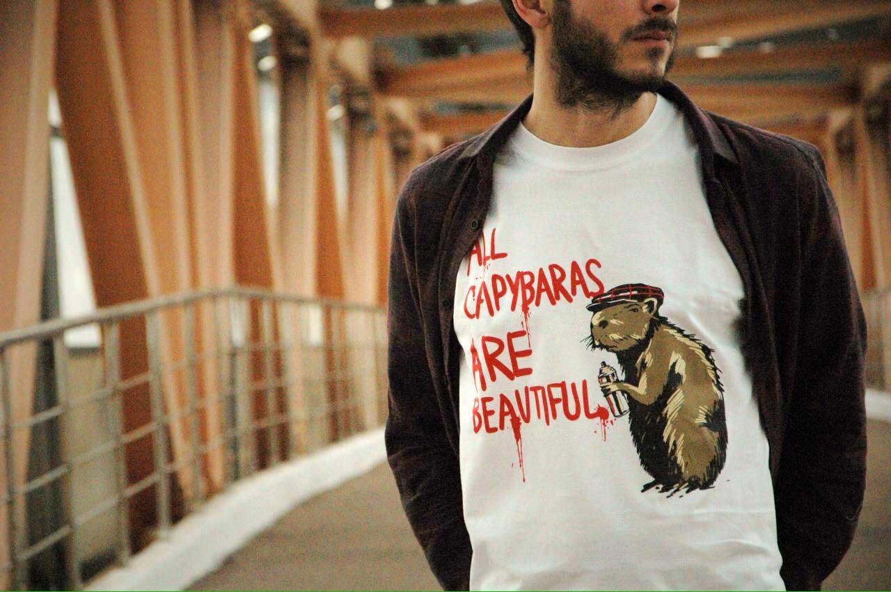 Капибара ACAB / футболка