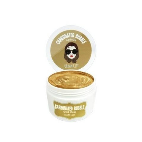 Baviphat Urban City Carbonated Bubble Mask маска для лица глиняно-пузырьковая с золотой пудрой