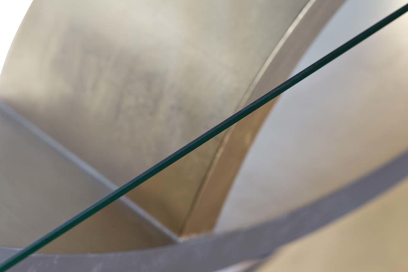 Консоль ART-4472-D со стеклом 157*46*85см