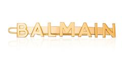 Заколка для волос в виде фирменного логотипа Balmain из коллекции весна-лето 2020