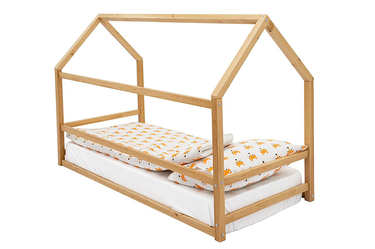 Кровать-домик Монтессори «Svogen» дерево