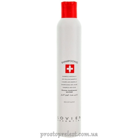 Lovien Essential Anti-Yellow Shampoo – Шампунь антижелтый