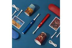 Вибрационная зубная щетка Soocas X3U Van Gogh Museum Design, синий металлик