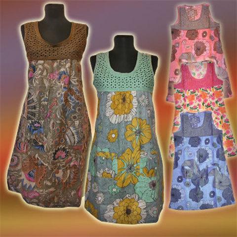 Платье лиф с вышивкой этно
