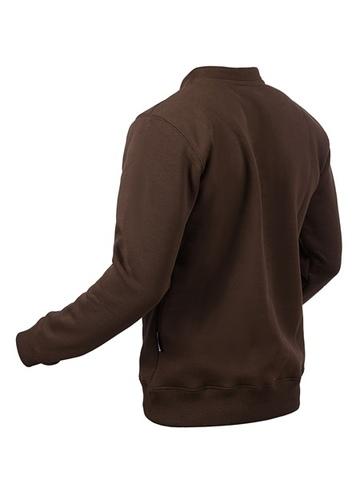 Свитшот-гимнастёрка Варгградъ мужской коричневый