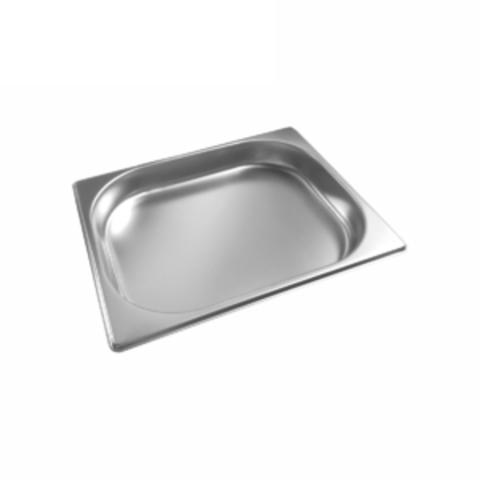 Гастроемкость GN1/2*40mm, 325х265х40*0,6мм (нерж.сталь)