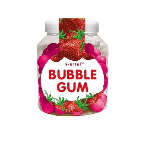 «Пузырята». Резинка жевательная дражированная со вкусом клубники в бидонах 1кор*10бл*100шт 5,5гр