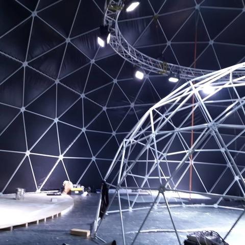Сферический шатер D35 (962 м²)